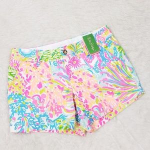 Lilly Pulitzer Callahan Shorts Lovers Coral 8